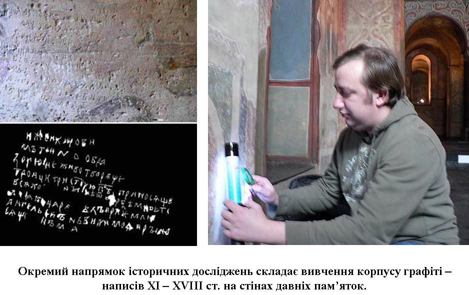 В. Корнієнко досліджує графіті