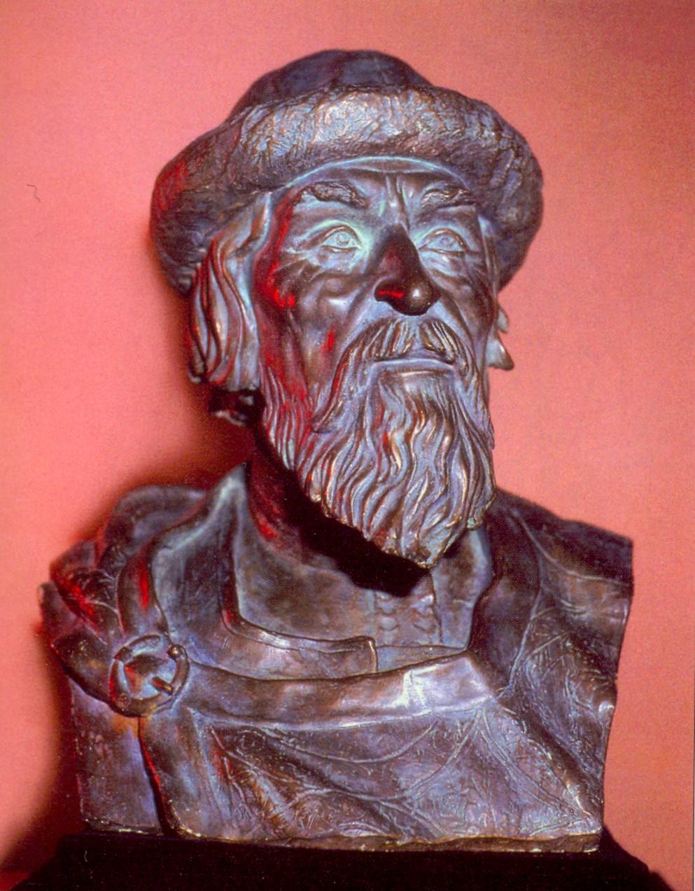 Ярослав Мудрий. Скульптурний портрет