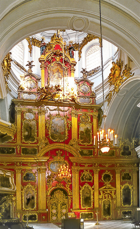 Internal decoration of The St. Andrew's Church