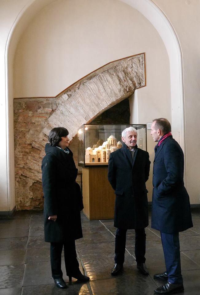 Іноземні гості в Софії Київській