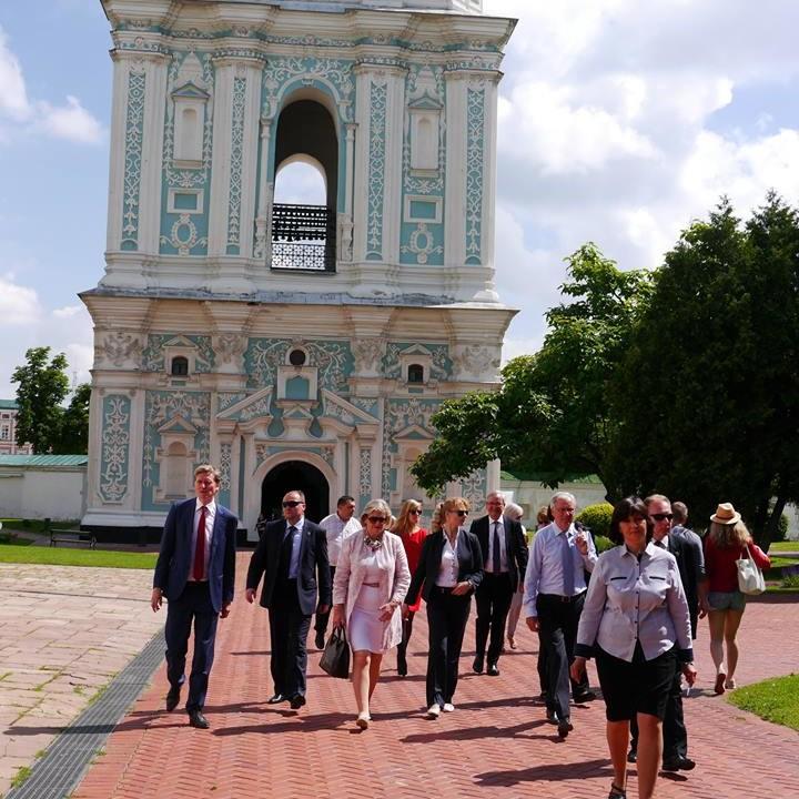 Приїзд Президента Верхньої палати Парламенту Королівства Нідерландів