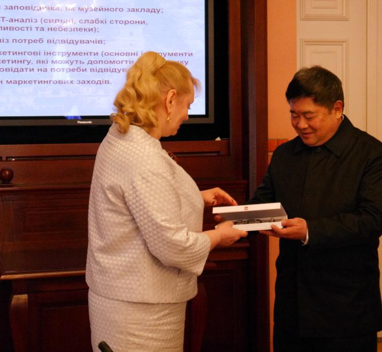 Візит делегації палацу-музею «Гугун»