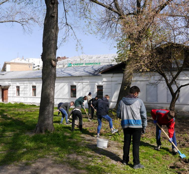 """Екологічна акція в """"Софії Київській"""""""