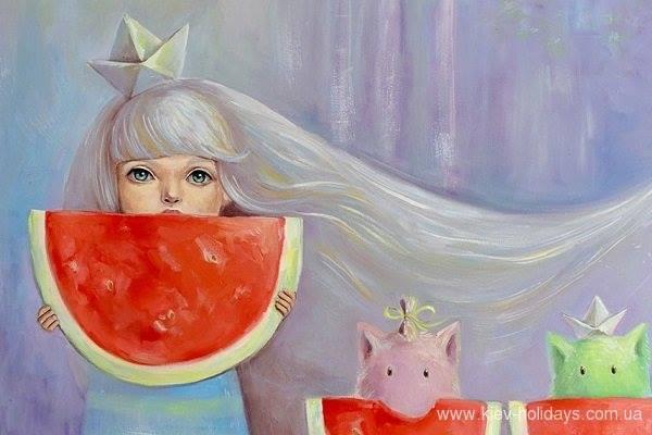 Виставка Ольги Яценко «Зорі та Какао»