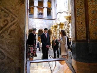 Князь Ліхтенштейну відвідав Софійський Собор