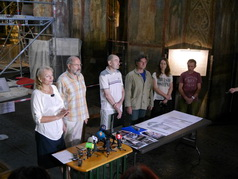 початок реставраційних робіт у Софійському соборі