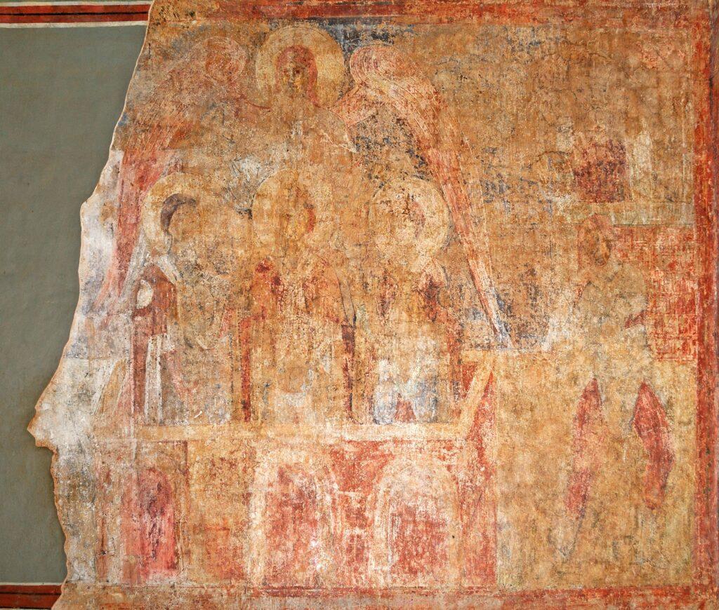 Старозавітний прообраз Воскресіння Христа у стінопису Софійського собору