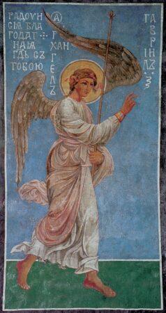 Благовіщення у живописі Кирилівської церкви